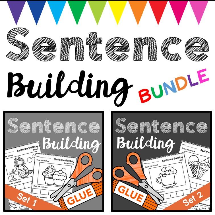 Sentence Building Bundle for Teachers