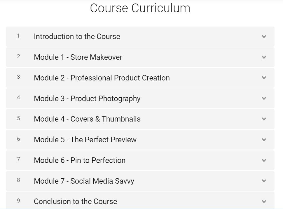 TPT Seller Course