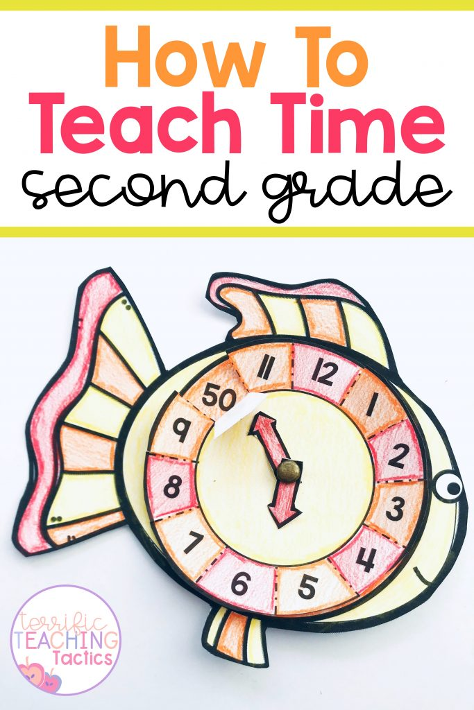 how to teach time to grade 2 - free clock craft