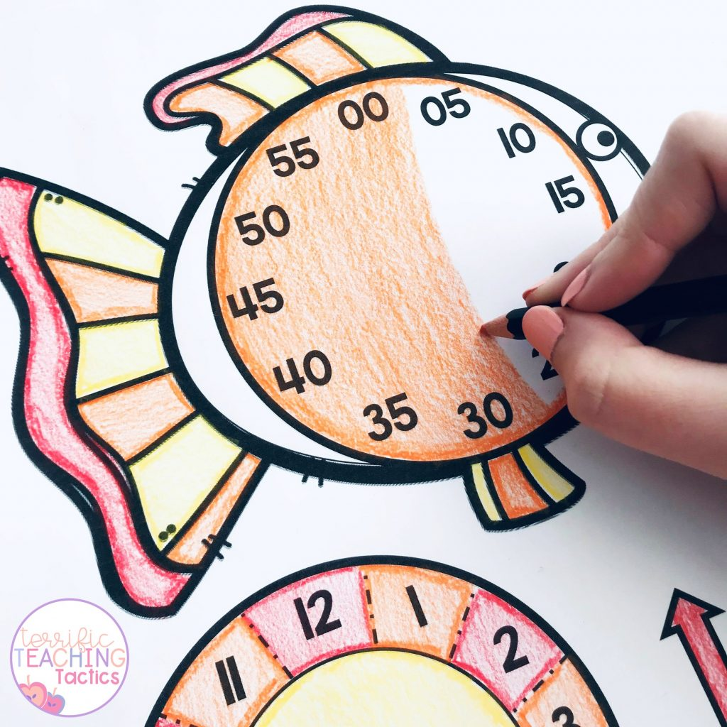 How do you start teaching time?