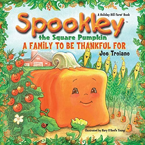 The Legend of Spookley the Square Pumpkin by Joe Troiano, halloween mentor text