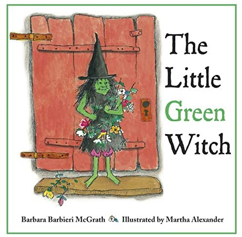 The Little Green Witch by Barbara Barbieri McGrath, halloween themed storybook