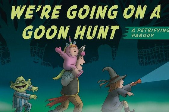 We're Going On A Goon Hunt by Michael Rex, The Best Halloween Story Books
