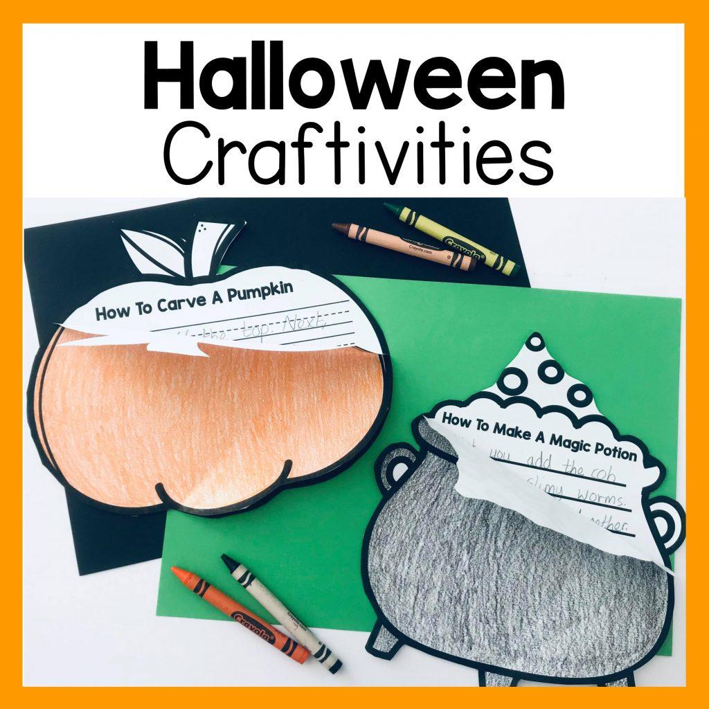 halloween how to procedure writing crafts