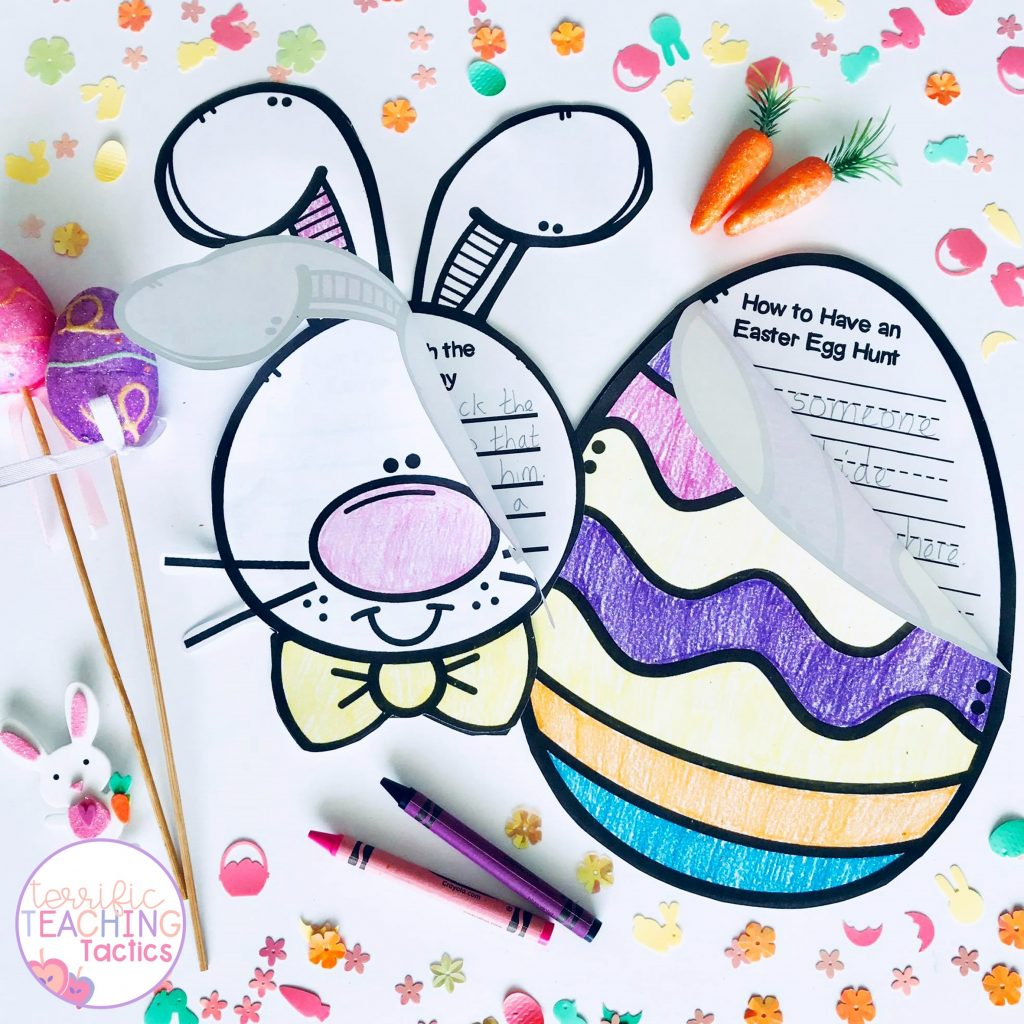 easter How To Writing Crafts