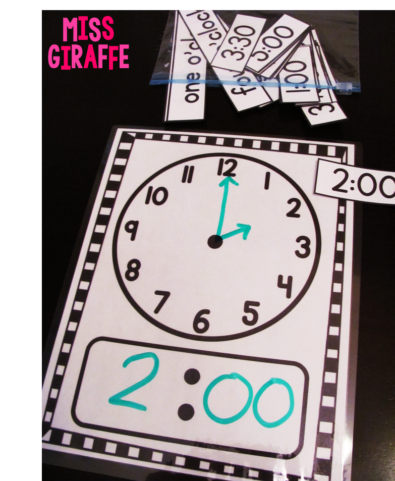 hands on and fun ways to teach telling time