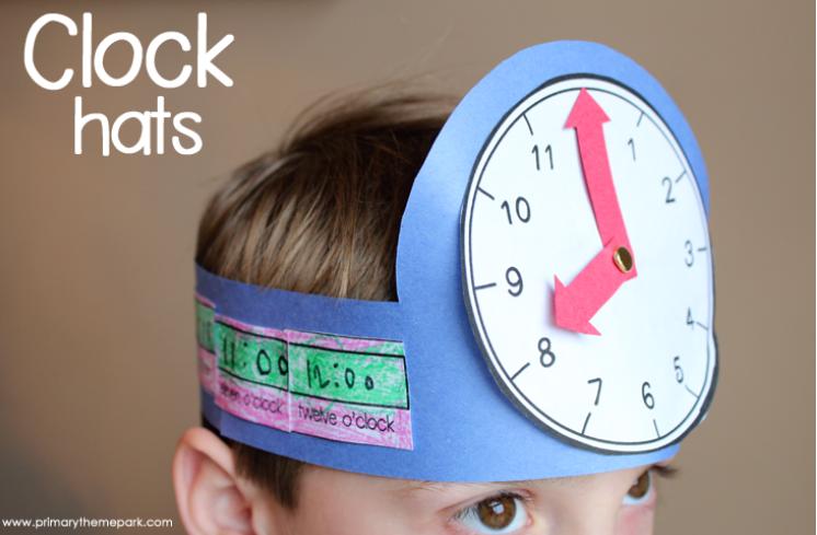 clock craft hat