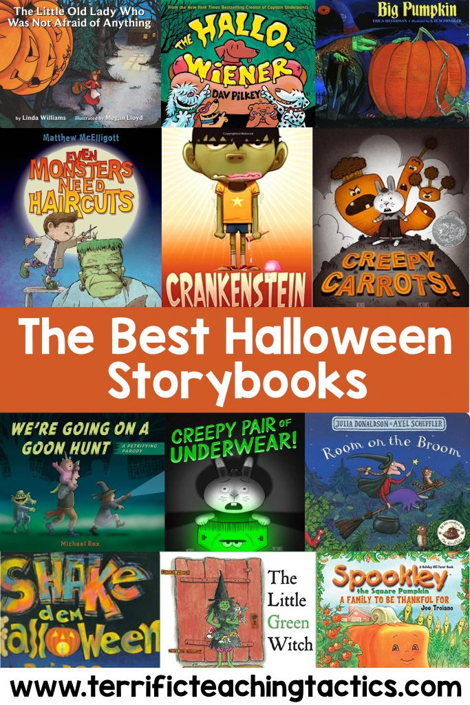 halloween story books, october themed picture books, halloween read alouds, spooky and scary mentor texts, witch pumpkin storybooks, The Best Halloween Story Books