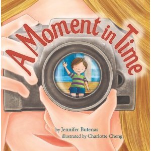 Picture book - A Moment In Time By Jennifer Butenas - the best mentor texts for teaching personal narratives